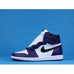 "Air Jordan 1 High ""Court Purple"" White Purple 555088-500 40-46"