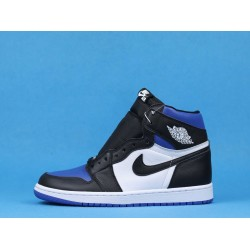 "Air Jordan 1 High ""Game Royal Toe"" Blue Black White 555088-041 40-46"
