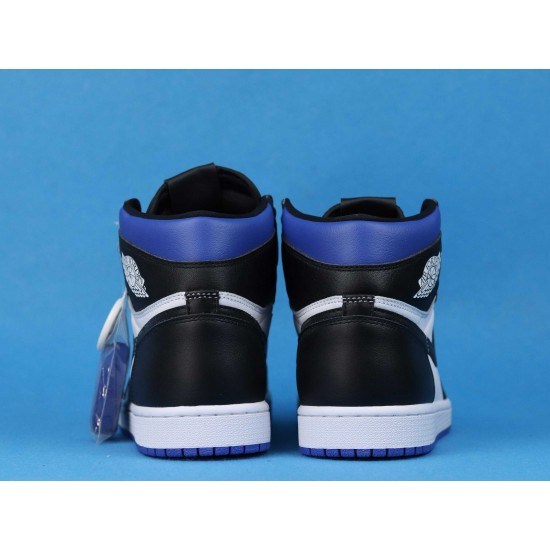 Air Jordan 1 High Game Royal Toe Blue Black White 555088-041 40-46