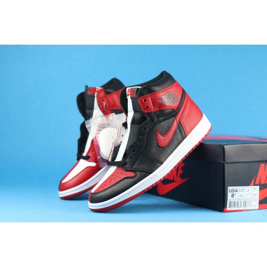 Air Jordan 1 High Homage To Home Red Black White 861428-061 40-46