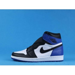 "Air Jordan 1 High ""Fragment"" White Black Blue 716371-040 40-46"