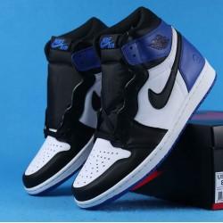 "Air Jordan 1 High ""Fragment"" White Black Blue 716371-040 40-46"