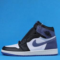 """Air Jordan 1 High OG """"Blue Moon"""" Blue Black 555088-115 40-46"""