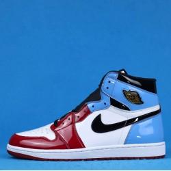 "Air Jordan 1 High OG ""Fearless"" UNC Chicago Red Blue White CK5666-100 40-46"
