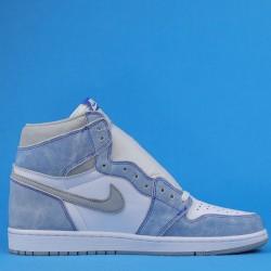 """Air Jordan 1 High OG """"Hype Royal"""" White Blue 555088-402 40.5-47"""