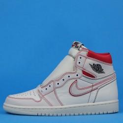 """Air Jordan 1 High OG """"Phantom"""" White Red 555088-160 40-46"""