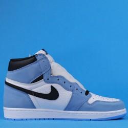 """Air Jordan 1 High OG """"University Blue"""" White Blue 555088-134 40.5-47"""