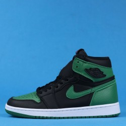 "Air Jordan 1 High ""Pine Green"" Black Green 555088-030 40-46"