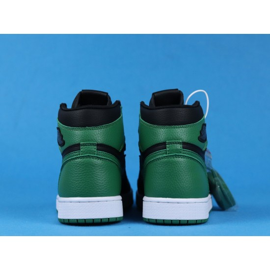 "Sale Air Jordan 1 High ""Pine Green"" Black Green 555088-030 40-46 Shoes"