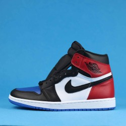"Air Jordan 1 High ""TOP 3"" Red Blue Black 555088-026 40-46"