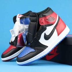"Air Jordan 1 High ""TOP 3"" Red Blue Black 555088-026 40-46"