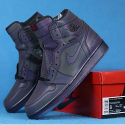 "Air Jordan 1 High Zoom R2T ""Fearless"" Triple Black BV0006-900 40-46"