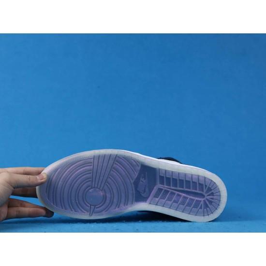 """Sale Air Jordan 1 OG High """"All-Star Chameleon"""" Blue Black White 907958-015 40-46 Shoes"""