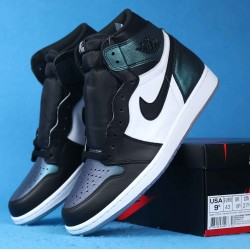 "Air Jordan 1 OG High ""All-Star Chameleon"" Blue Black White 907958-015 40-46"