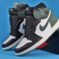 Air Jordan 1 Retro High Green Black White 40-46