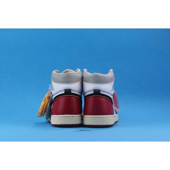 "Sale Air Jordan 1 Retro High ""Nrgun Black Toe"" Black White Gold BV1300-106 40-46 Shoes"