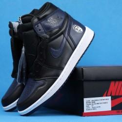 """Air Jordan 1 Retro High OG """"Fort Greene"""" Mars Blackmon Black White 705588-550 40-46"""