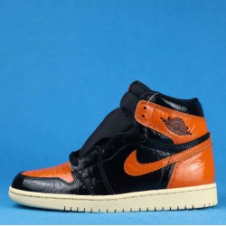 "Air Jordan 1 Retro High OG ""Shattered Backboard 3.0"" Orange Black 555088-028 40-46"