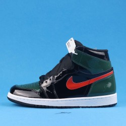 "SoleFly x Air Jordan 1 Retro High OG ""Art Basel"" Black Green Orange AV3905-038 40-46"