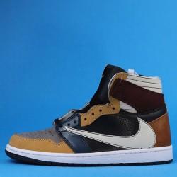 Travis Scott x Air Jordan 1 High Brown Khaki White 40-46