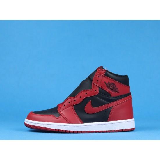 "Sale Air Jordan 1 High 85 ""Varsity Red"" Red Black BQ4422-600 36-46 Shoes"