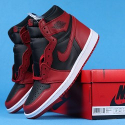 "Air Jordan 1 High 85 ""Varsity Red"" Red Black BQ4422-600 36-46"