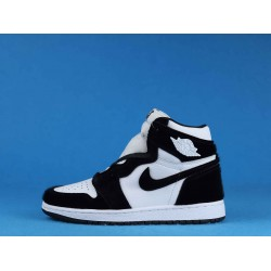 "Air Jordan 1 High ""Panda"" ""Twist"" Black White CD0461-007 36-46"