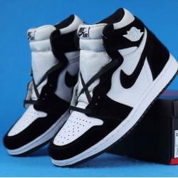 "Air Jordan 1 High ""Panda"" ""Twist"" Black White CD0461-007 36-46"