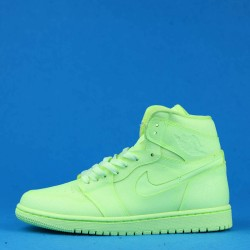 "Air Jordan 1 Retro High ""Barely Volt"" Premium Green AH7389-700 36-46"