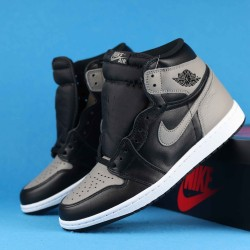 "Air Jordan 1 Retro High OG ""Shadow"" Gray Black 555088-013 36-46"