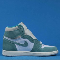 "Air Jordan 1 Retro High ""Turbo Green"" White Green 555088-311 36-46"