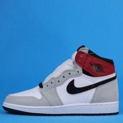 "Air Jordan 1 High OG ""Light Smoke Grey"" Grey White 575441-126 36-40"