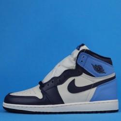 """Air Jordan 1 High """"Obsidian"""" Blue White 575441-140 36-40"""