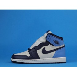 "Air Jordan 1 High ""Obsidian"" Blue White 575441-140 36-40"
