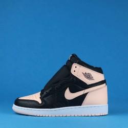 """Air Jordan 1 Retro High OG """"Crimson Tint"""" Black Pink 575441-081 36-40"""