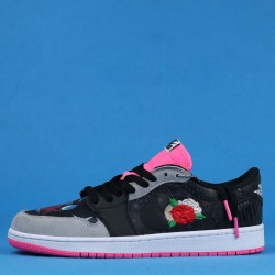 "Air Jordan 1 Low OG ""Chinese New Year"" Black Pink CW0418-006 36-46"