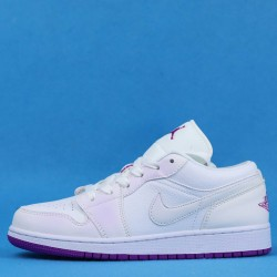 "Air Jordan 1 Low ""Court Purple"" White Purple 555112-ID 36-46"