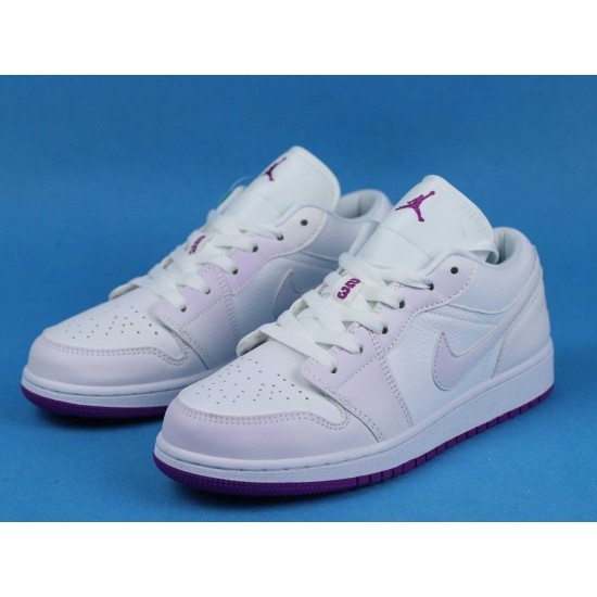 Air Jordan 1 Low Court Purple White Purple 555112-ID 36-46