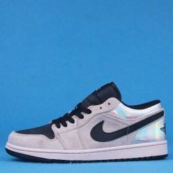 "Air Jordan 1 Low ""Fossil"" Pink Black CV3043-602 36-46"