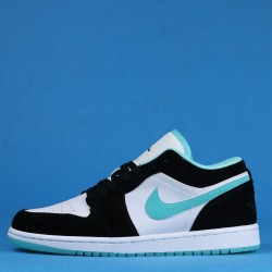 "Air Jordan 1 Low ""Island Green"" Green Black White CQ9828-131 36-46"