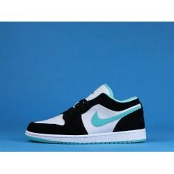 "Air Jordan 1 Low ""Island Green"" Green Black White CQ9828-131 36-46"