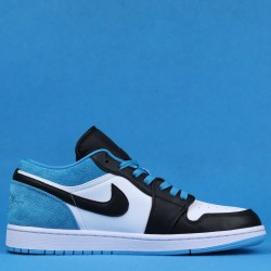 "Air Jordan 1 Low ""Laser Blue"" Blue Black White CK3022-004 36-46"