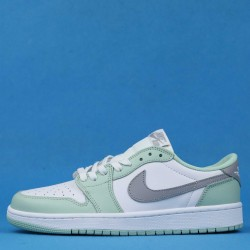 "Air Jordan 1 Low OG ""Neutral Grey"" Green White CZ0790-100 36-46"