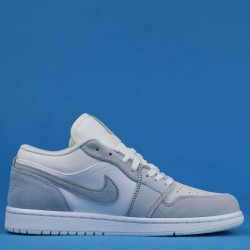 "Air Jordan 1 Low ""Paris"" White Gray CV3043-100 36-46"