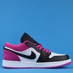 "Air Jordan 1 Low SE ""Magenta"" Purple Black White CK3022-005 36-46"
