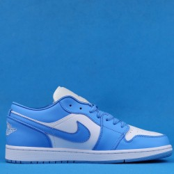 "Air Jordan 1 Low WMNS ""UNC"" Blue White AO9944-441 36-46"