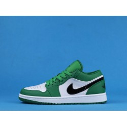 "Air Jordan 1 ""Pine Green"" White Green 553558-301 36-46"