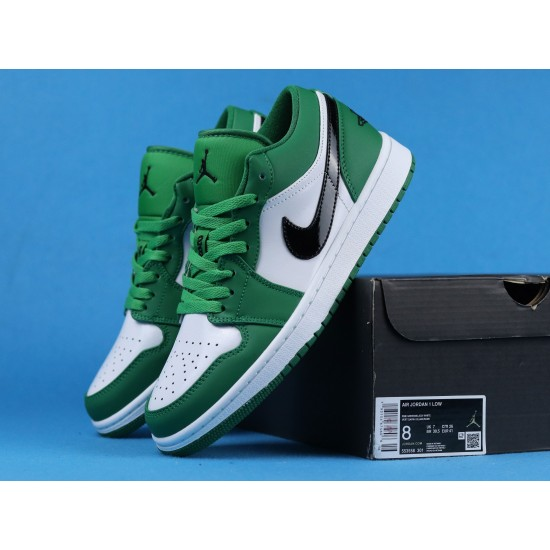 Air Jordan 1 Pine Green White Green 553558-301 36-46