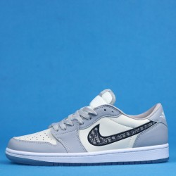 Air Jordan 1 Low Gray White CN8608-002 36-46