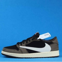 "Air Jordan 1 Low OG SP-T ""Mocha"" Brown Black CQ4277-001 36-46"